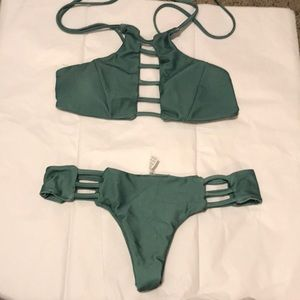 Swim top and bottoms